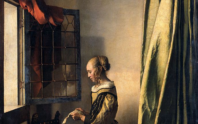 girl reading a letter at an open window reading a letter at an open window uvcsjf 21954 | johannes vermeer girl reading a letter by an open window google art project